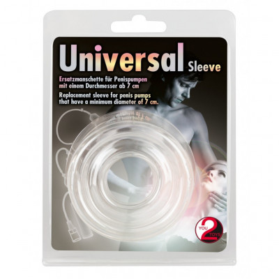 Universal Silicone Sleeve Clear