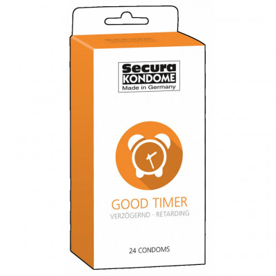 Delay condoms Secura Good Timer 24 pcs