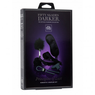Φετιχιστικό Σετ Fifty Shades Darker Principles of Lust Romance Couples Kit