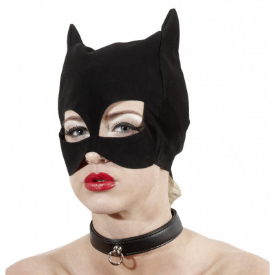 Black Cat mask By Bad Kitty