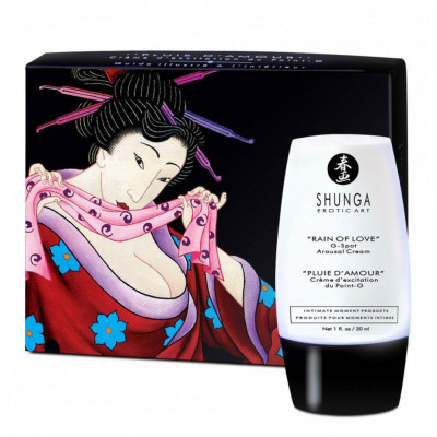 Shunga Rain of Love G-Spot Arousal Cream 30ml