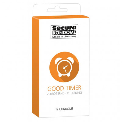 Delay condoms Secura Good Timer 12 pcs