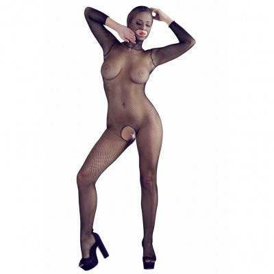 FishNet Catsuit with Mask