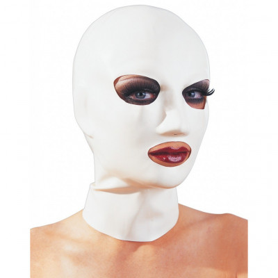 White Latex Hood