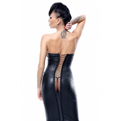 Demoniq Ellen Dress with Lacing Opening