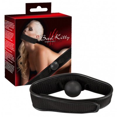 Bad Kitty Gag with Head Strap