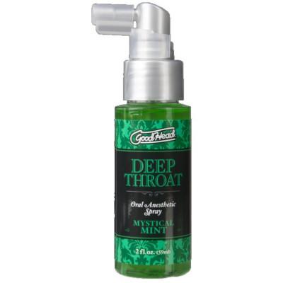 Doc Johnson Good Head Deep Throat Spray Mystical Mint
