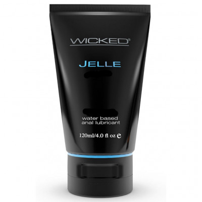 Wicked Jelle Anal Water Based Lubricant 120 ml