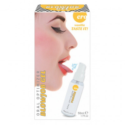 Vanilla Blowjob Gel Eros Hot 50 ml