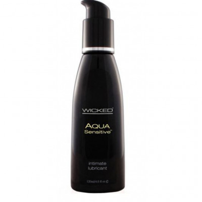 Wicked Aqua Sensitive Water Based lube 120ml