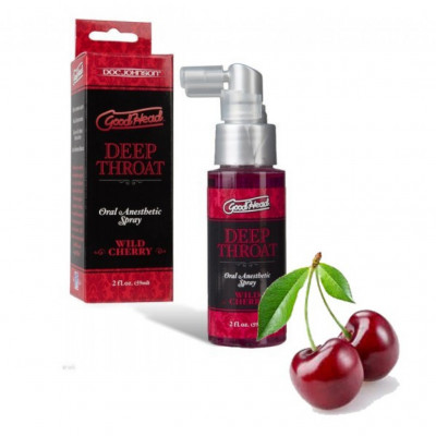 Doc Johnson Αναισθητικό σπρέι κεράσι γιά βαθύ στοματικό σέξ