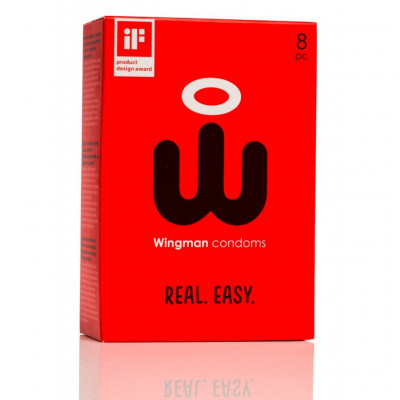 Wingman Condoms 8 pcs