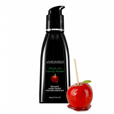 Wicked Aqua Candy Apple Edible Lube 60ml