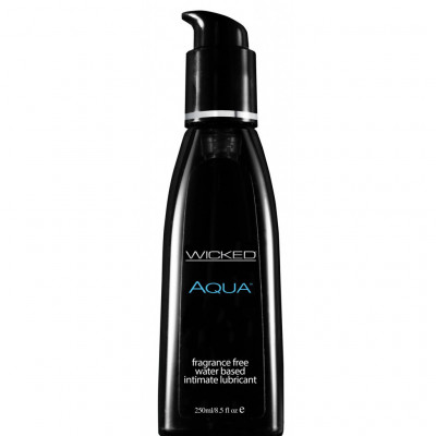 Wicked Aqua Water Based Lubricant 250 ml