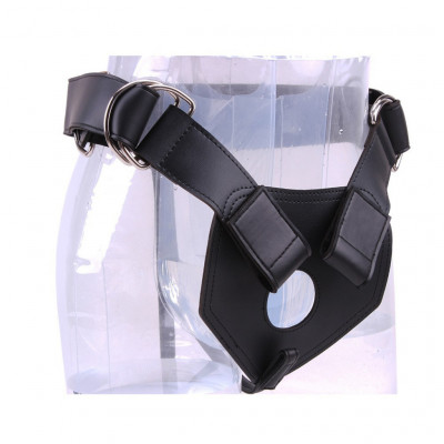 One size heavy duty use strap-on harness