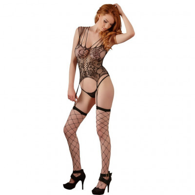 Exciting Basque Set with Stocking and string