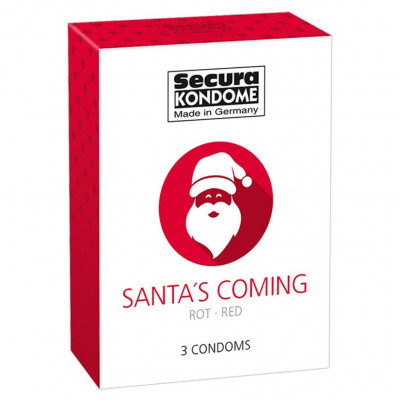 Santas Coming Back 3 Condoms