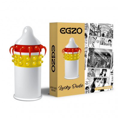 Egzo Condom Lucky Dude 1 Piece