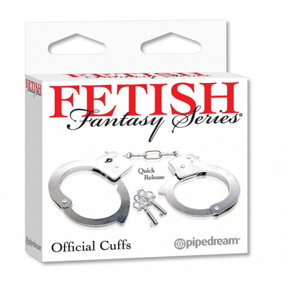 Fetish Fantasy Official metallic Handcuffs