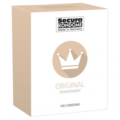 Secura Original 100 Condoms