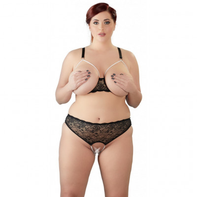 Delicate Plus Size Bra Set