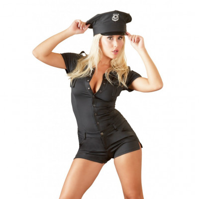 Sexy Police Jumpsuit
