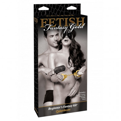 Fetish Fantasy Gold Beginners Fantasy 4 Piece Kit