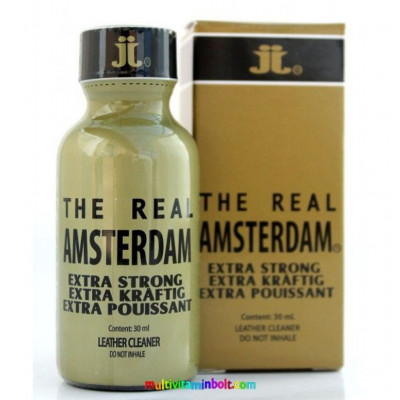 Lockerroom Real Amsterdam Extra Strong 30 ml