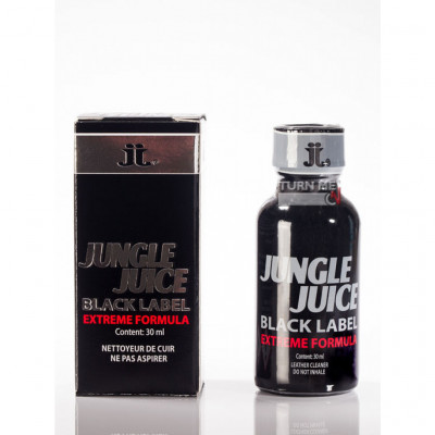 Lockerroom Μαύρο Πόππερ Jungle Juice 30 ml