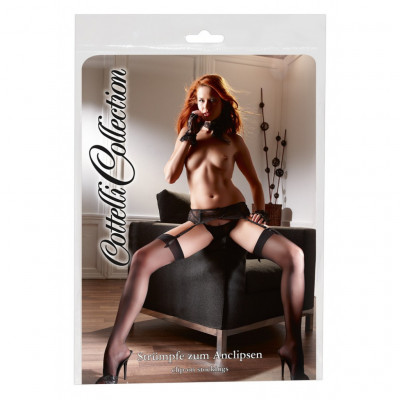 Cottelli Black Stockings