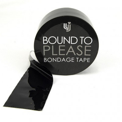 Bound to Please Black Bondage Tape