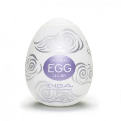 Tenga αυγό σύννεφο λευκό χρώμιο