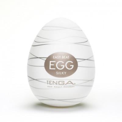 Tenga Egg Silky White