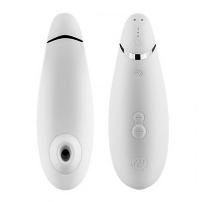 Womanizer Premium White-Chrome
