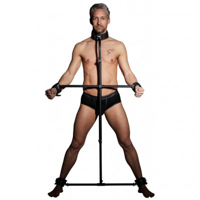 Heavy duty Metal and Leather Slave Pillory