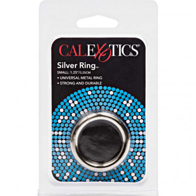 Calexotics Silver Cock Ring Small 32mm