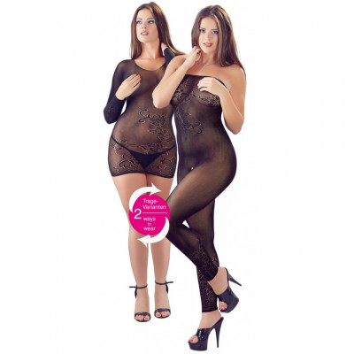 Dress and Catsuit 2in1