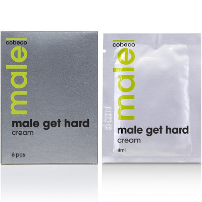Male Cobeco Get Hard Cream Sachets 6x4ml