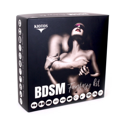 Bondage Set of 11 pcs complete BDSM Fantasy Kit