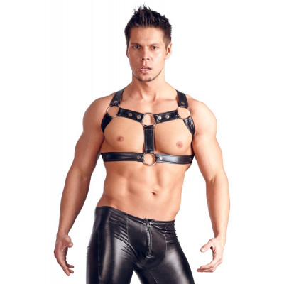 Svenjoyment Wetlook Chest Harness