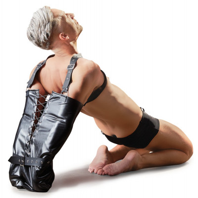 Bondage Leather Armbinder Fetish Collection