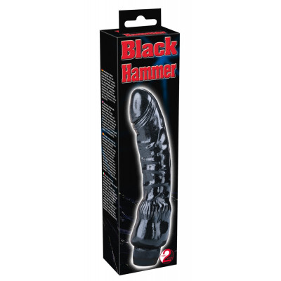 Black Cyprus Cock Vibrating Fucker 22cm