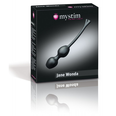 Mystim Jane Wonda Love Balls with Electrical Stimulation