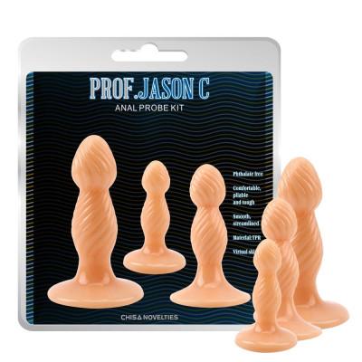 Anal Probe Kit Three butt plugs
