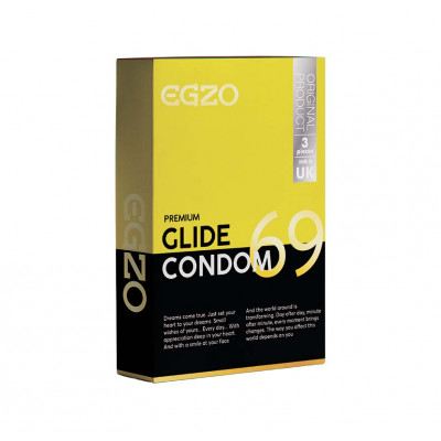 Egzo Slide 3 Condoms