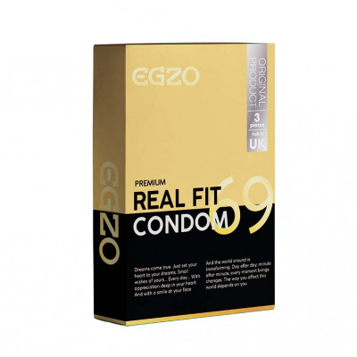 Egzo Real Fit 3 Condoms