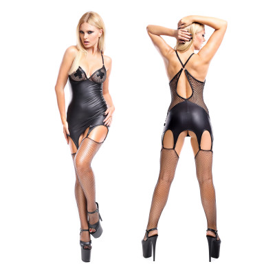 Dark Desire Eris Garter Dress