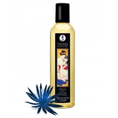 Ερωτικό λάδι μασάζ Shunga Midnight flower 250 ml