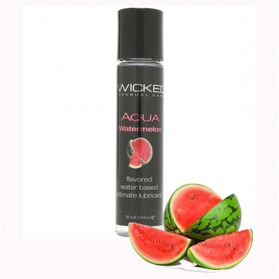 Wicked Aqua Watermelon Edible Lube 30ml