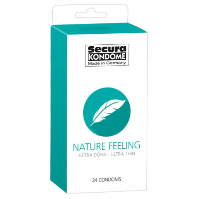 Secura Nature Feeling 24 condoms